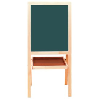 Board easel double-sided chalk and magnetic marker (56х67 cm) white/green, RUSSIA, BRAUBERG