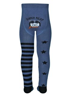 """Tights with a pattern """"Pilot"""""""