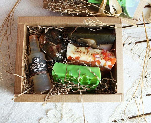Brutal men's handmade soap gift set