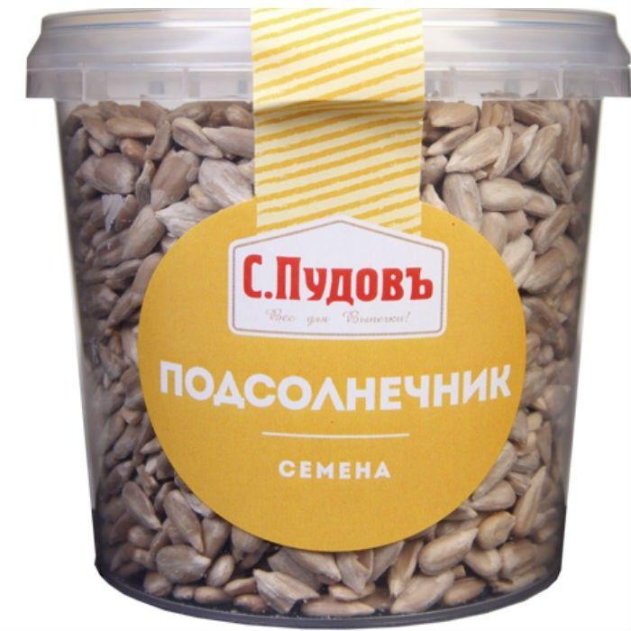 Whole peeled sunflower seeds S. Pudov, 170 g
