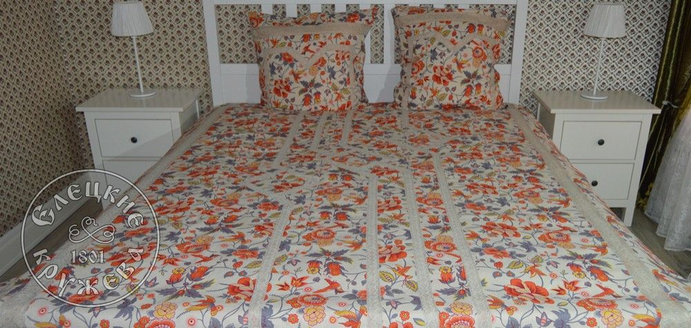 Yelets lace / Double bedding set С2177ЕЦ