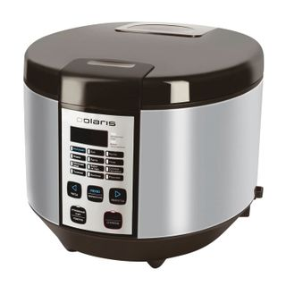 POLARIS PMC 0558AD, 700 W, 5 litres, 12 programs, timer, silver