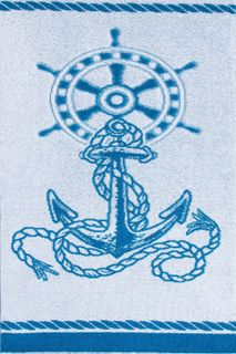 Towel Nautical,anchor-2 Art. 4365