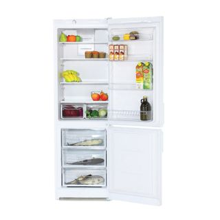 INDESIT EF 18 fridge, 303 litres total, 75 litre lower freezer, 60 x64 x185cm, white