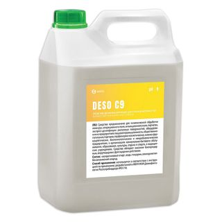 GRASS / Alcohol-based antiseptic disinfectant for skin DESO C9, ready-made solution 70%, 5 l