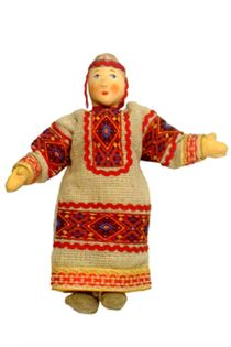 Mary 'peasants'. Doll gift