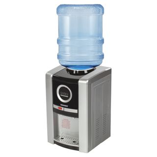 SONNEN TEB-02 water cooler, desktop, NEW/BREAKING E,2 cranes, silver/black