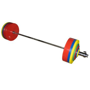 Hercules / Record bar for powerlifting 432.5 kg, set