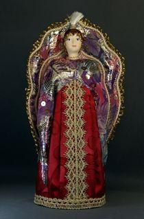 Doll gift porcelain. The Firebird. Fabulous image.