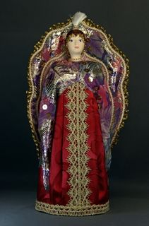Doll gift porcelain. The Firebird. Fabulous image.