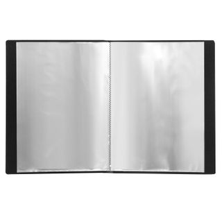 Folder 20 liners BRAUBERG standard, black, 0.6 mm