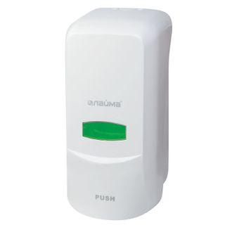 Dispenser for liquid soap LIME PROFESSIONAL, liquid, 1 l, white, ABS plastic