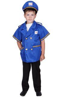 The driver - children's costume-profession