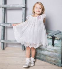 Guipure dress with wings  Code: 1722131