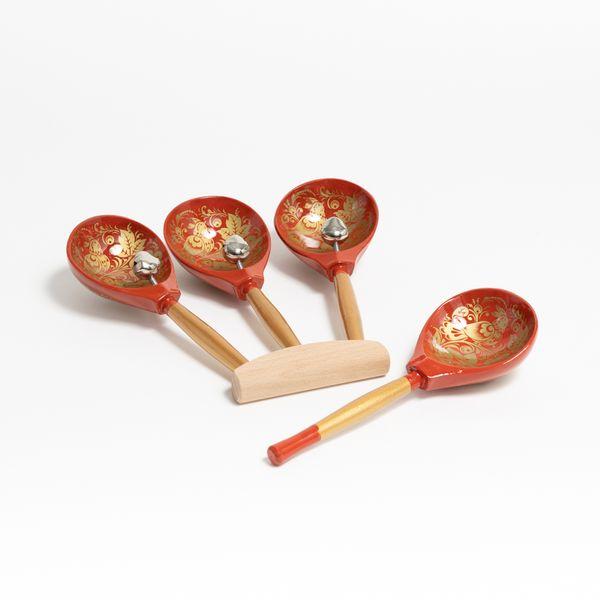 """Workshop Serebrov / Fan spoons """"Troika"""""""