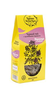 "Black tea ""Oregano and thyme"" Bouquets of Issyk-Kul lake"
