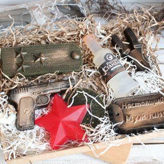 Men's handmade soap set Real Colonel Milotto art. milotto003457