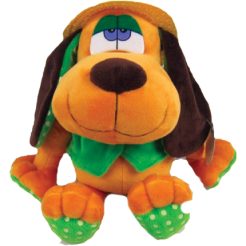 """New Year's gift """"Basset"""" dog + a set of sweets 450g."""