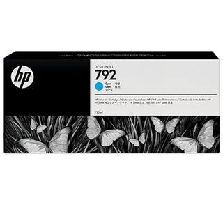 Inkjet cartridge HP (CN706A) DesignJet L26500, # 792, cyan, original