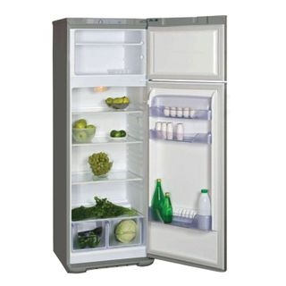 BBELARUSA M135 fridge, two-chamber, 300 litre volume, top freezer 60 litres, silver