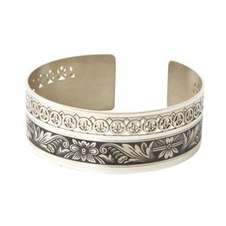 Lace Luxury - Silver Bracelet