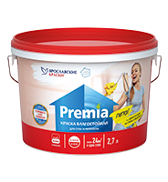 """Paint for walls and ceilings moisture-proof """"PREMIA"""""""