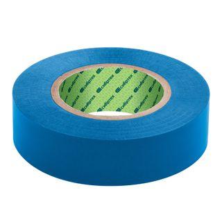 PVC insulating tape, 19 mm x 20 m, SIBRTECH, 180 microns, blue