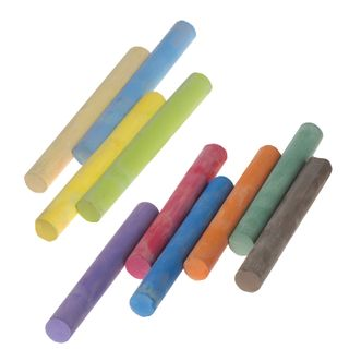 Chalk, colored JOVI (Spain), set of 10 PCs, round, cardboard packaging with Euro slot
