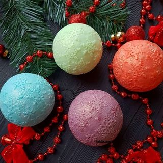 New Year's soap -