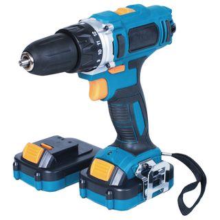 Drill screwdriver battery, 14.4 B, Li-Ion, 1300 rpm, 2 batteries, BORT BAB-14x2Li-XDK