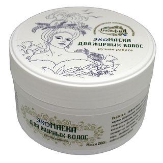Scythia / Mask for oily hair, 200 ml