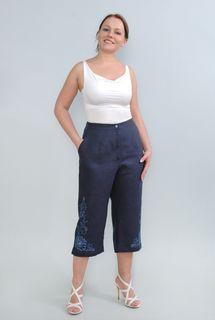 Pants womens linen 9-70