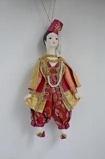 """Doll pendant """"Arabochok"""""""