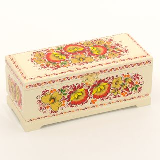 Wooden box for tea 230х100