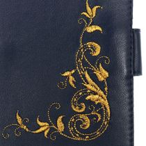 Cover for car documents leather charm