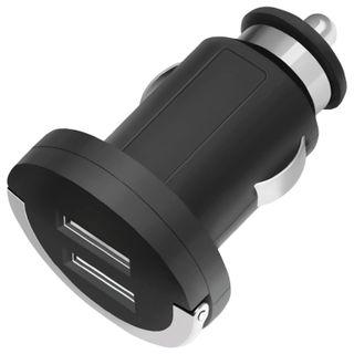 DEPPA / Car Charger Ultra, 2 USB Ports, Output Current 2.1 A, Black