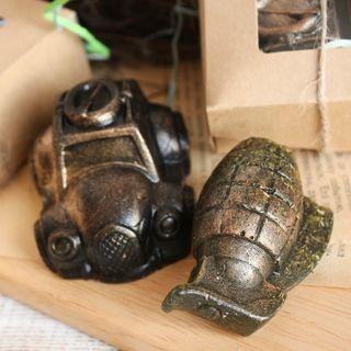 Men's mini set of handmade soap For the brave