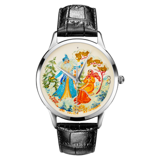 "Palekh watch ""Father Frost №46"