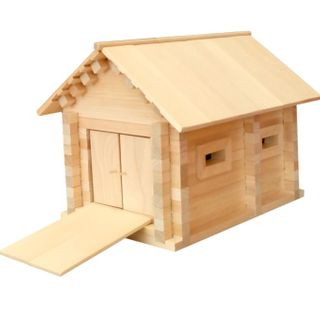 Children's Wooden Constructor Garage 1 - Teremok series