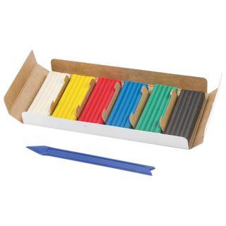 Clay classic BRAUBERG, 6 colors, 120 gr, stack, carton