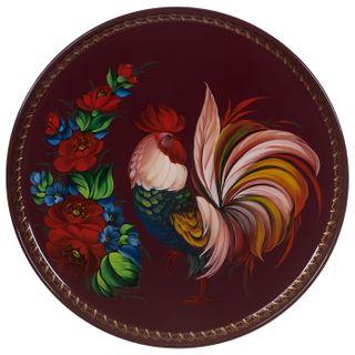 Zhostovo / Tray, by Shamenkova S. 37 cm