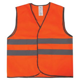 GRANDMASTER / GOST signal vest, 2 reflective stripes, ORANGE, XXL (56-58), Dense