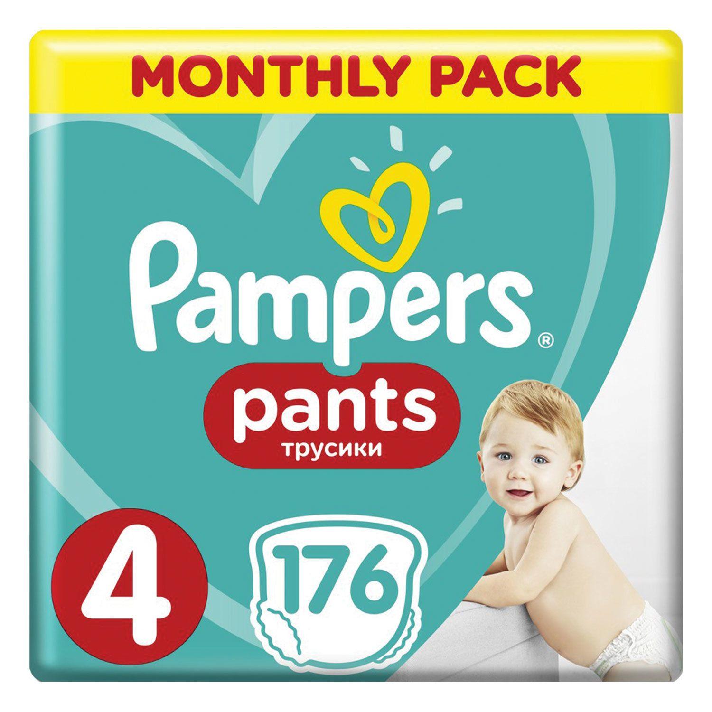 "PAMPERS / Pants-diapers ""Pants"", size 4 (9-15kg), 176 pcs."