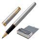Rollerball pen PARKER 'Core Sonnet Steel GT', body silver-plated details, black - view 1