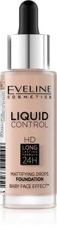Innovative liquid Foundation No. 020 - rose beige series liquid control, Eveline, 32 ml