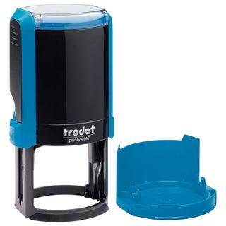Accessories print, print D=42 mm, blue, TRODAT PRINTY 4642 4.0, cover, pillow