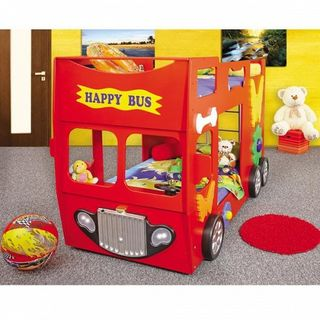 Children's bed in a car Happy Bus