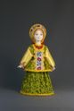 Doll gift porcelain. The Archangel's lips. Maiden costume. - view 1