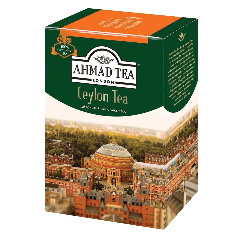 """AHMAD / Tea """"Ceylon Tea OP"""" black sheet, cardboard box, 200 g"""