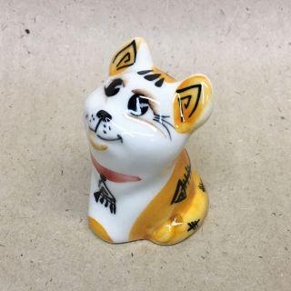 "Porcelain figurine ""Cat Native"" 5 cm"